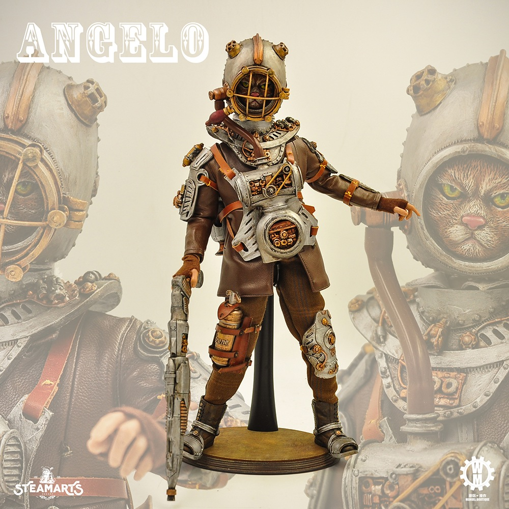 Stylized - NEW PRODUCT: steam factory STEAMARTS: 1/6 Dobbys series cat knight - Angelo / KNIGHT CAT-ANGELO 18251710