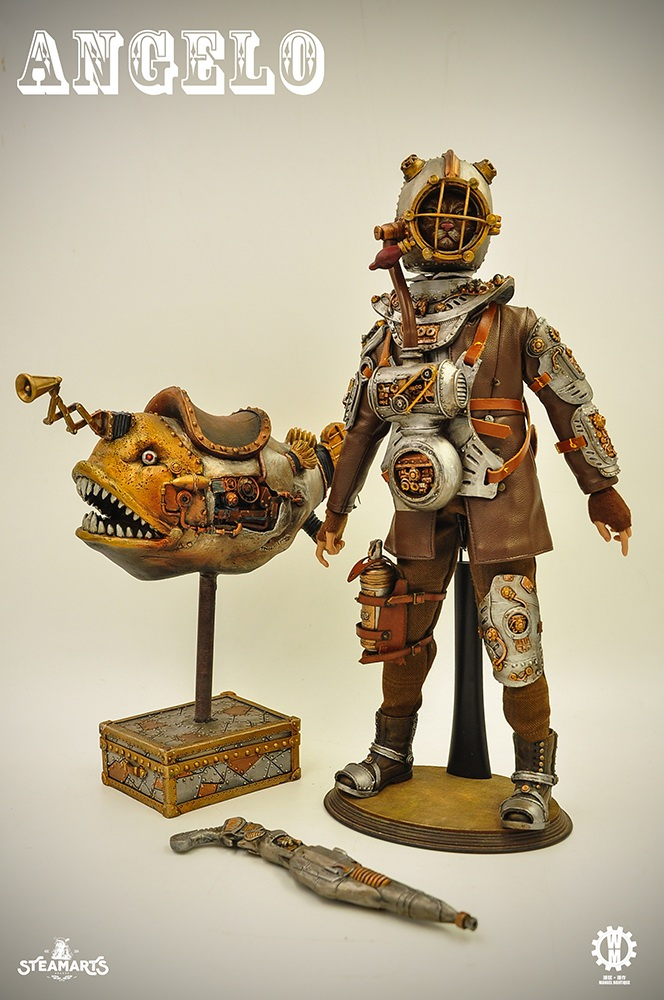 Angelo - NEW PRODUCT: steam factory STEAMARTS: 1/6 Dobbys series cat knight - Angelo / KNIGHT CAT-ANGELO 18251810