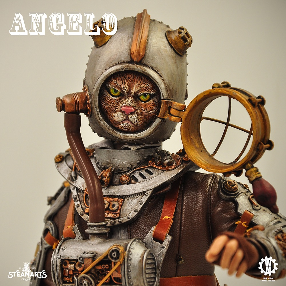 Stylized - NEW PRODUCT: steam factory STEAMARTS: 1/6 Dobbys series cat knight - Angelo / KNIGHT CAT-ANGELO 18252710
