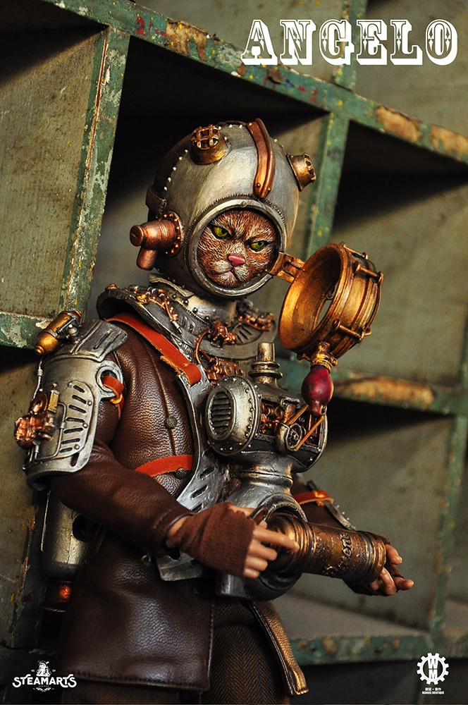 Stylized - NEW PRODUCT: steam factory STEAMARTS: 1/6 Dobbys series cat knight - Angelo / KNIGHT CAT-ANGELO 18253310