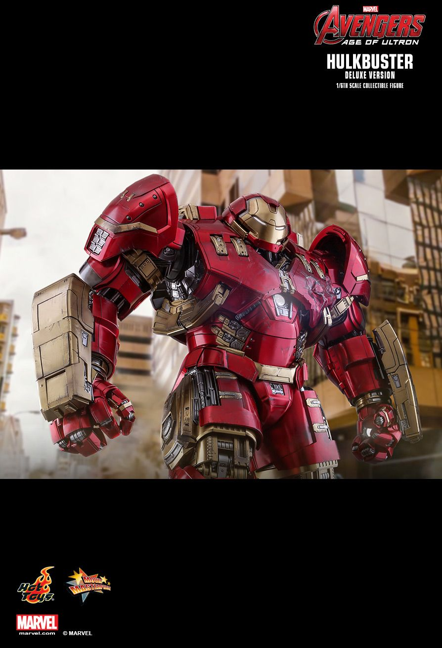 NEW PRODUCT: HOT TOYS: AVENGERS: AGE OF ULTRON HULKBUSTER (DELUXE VERSION) 1/6TH SCALE COLLECTIBLE FIGURE 1830