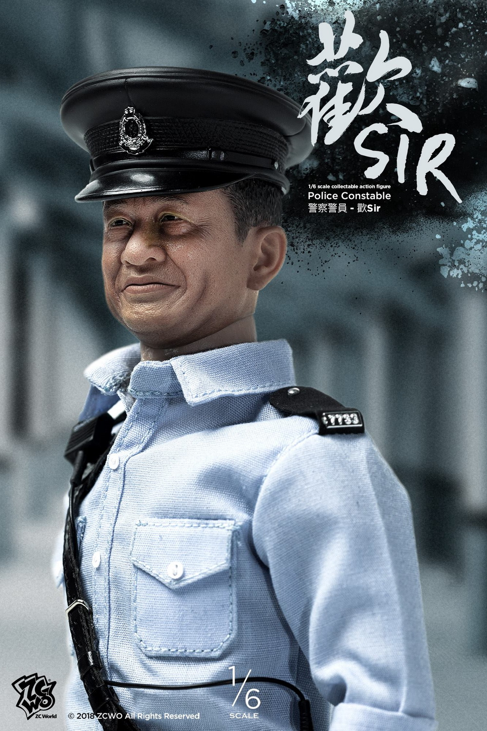 NEW PRODUCT: ZCWO New Products: 1/6 Police Series - Undercover Happy Brother & Escort Group Sir & Police Officer Sir [3 models] 18320710