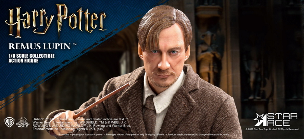 NEW PRODUCT: STAR ACE Toys: 1/6 SA0076 Harry Potter Series - Professor Lupin Normal Edition & Deluxe Edition 18350910