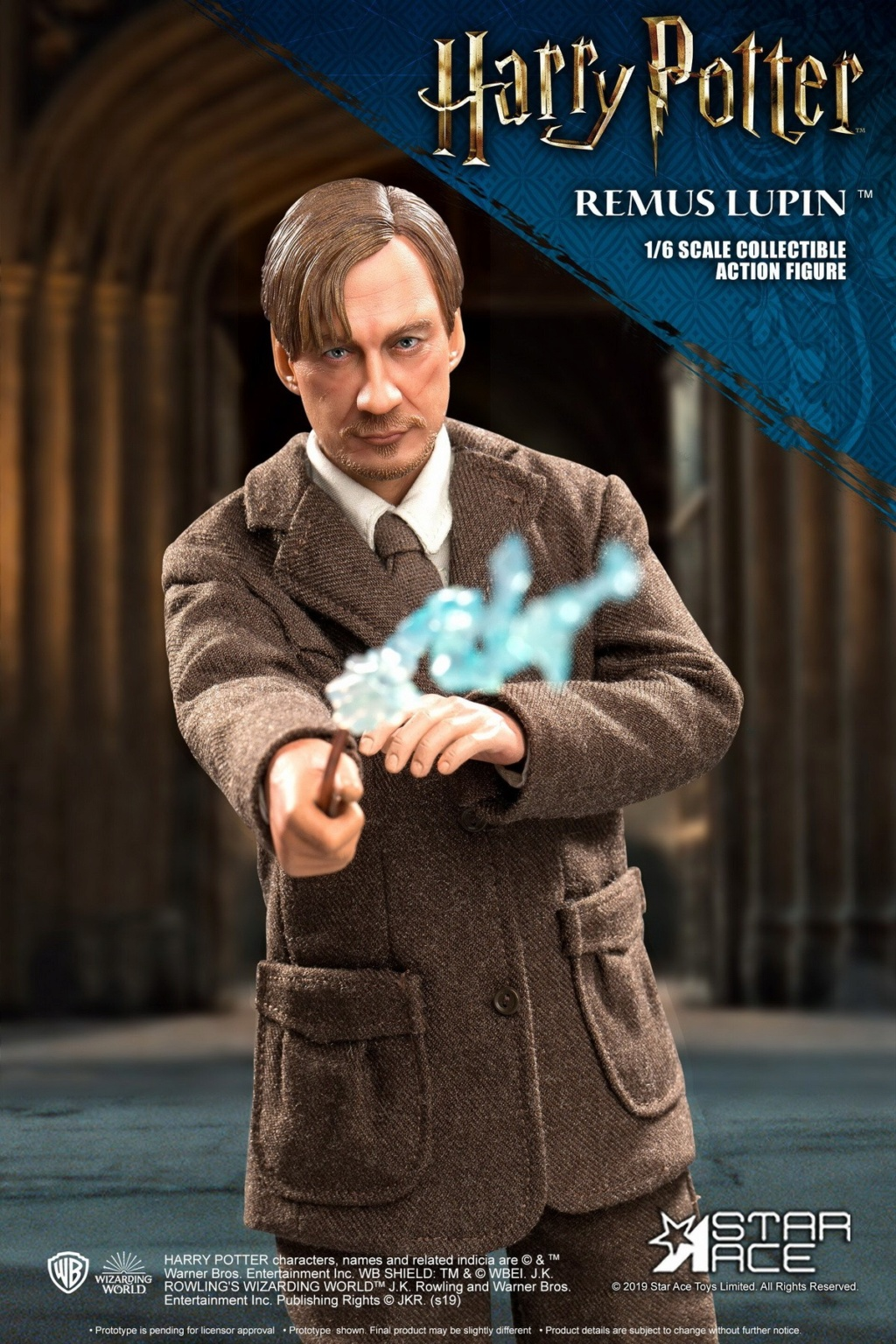 NEW PRODUCT: STAR ACE Toys: 1/6 SA0076 Harry Potter Series - Professor Lupin Normal Edition & Deluxe Edition 18351610