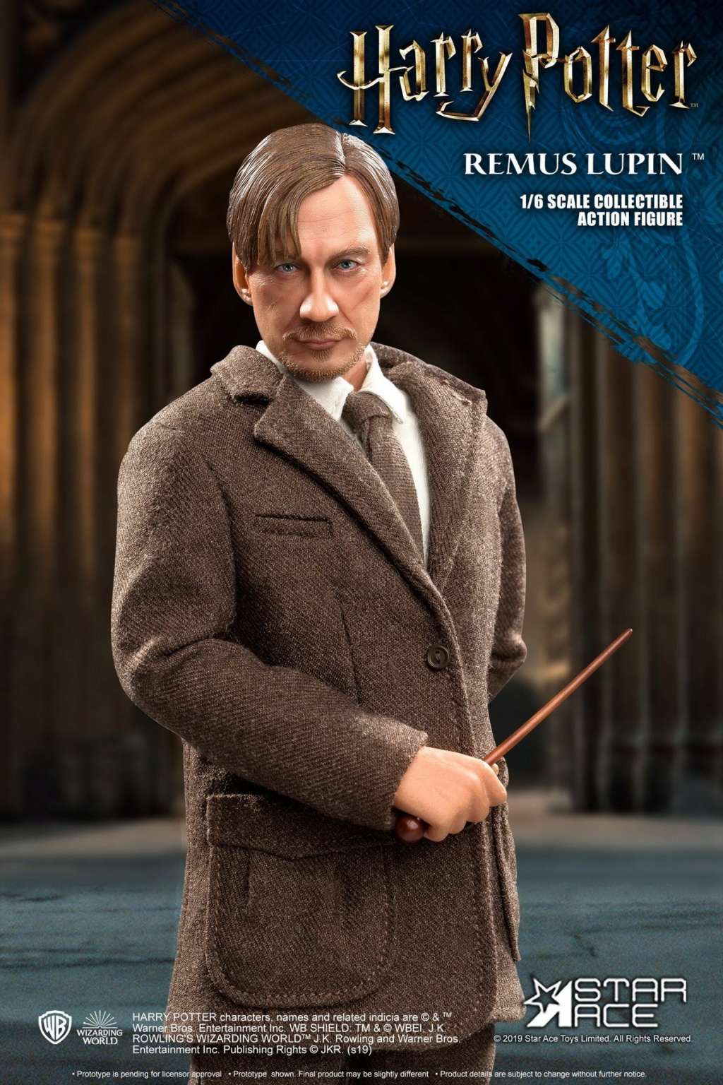 NEW PRODUCT: STAR ACE Toys: 1/6 SA0076 Harry Potter Series - Professor Lupin Normal Edition & Deluxe Edition 18352610