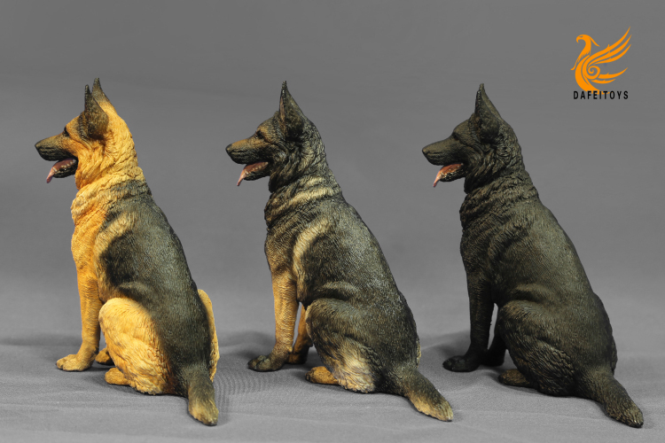NEW PRODUCT: Dafei GK Studio New: 1/6 German Shepherd - Lying Position & Sitting Position 18353510
