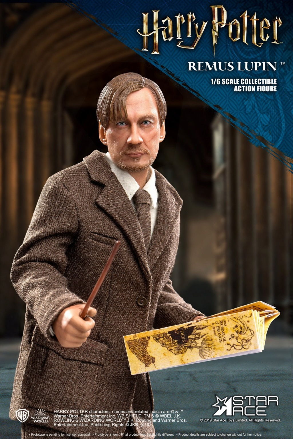NEW PRODUCT: STAR ACE Toys: 1/6 SA0076 Harry Potter Series - Professor Lupin Normal Edition & Deluxe Edition 18353612