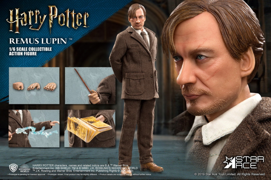 NEW PRODUCT: STAR ACE Toys: 1/6 SA0076 Harry Potter Series - Professor Lupin Normal Edition & Deluxe Edition 18354410