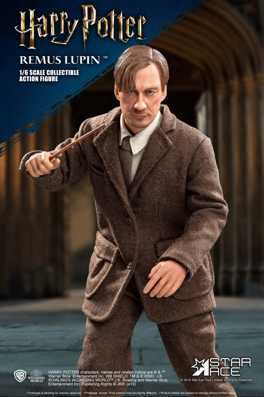 fantasy - NEW PRODUCT: STAR ACE Toys: 1/6 SA0076 Harry Potter Series - Professor Lupin Normal Edition & Deluxe Edition 18354411