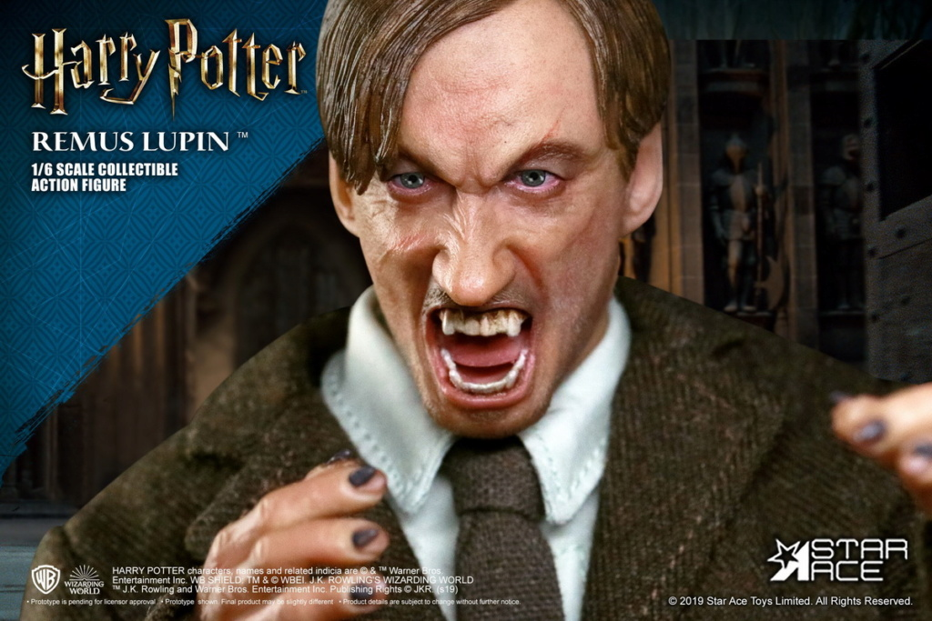 NEW PRODUCT: STAR ACE Toys: 1/6 SA0076 Harry Potter Series - Professor Lupin Normal Edition & Deluxe Edition 18361211