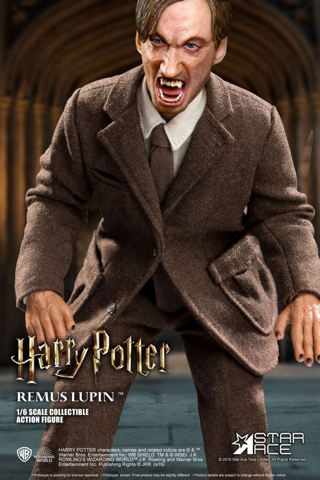 fantasy - NEW PRODUCT: STAR ACE Toys: 1/6 SA0076 Harry Potter Series - Professor Lupin Normal Edition & Deluxe Edition 18362311