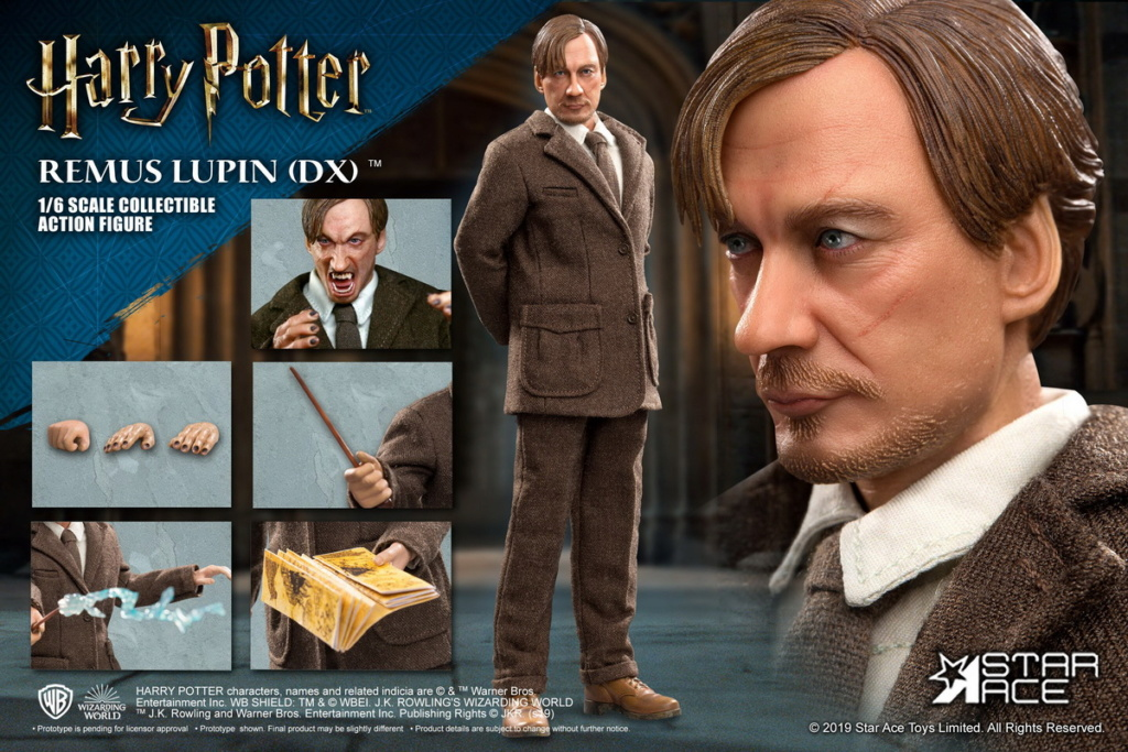 NEW PRODUCT: STAR ACE Toys: 1/6 SA0076 Harry Potter Series - Professor Lupin Normal Edition & Deluxe Edition 18362312