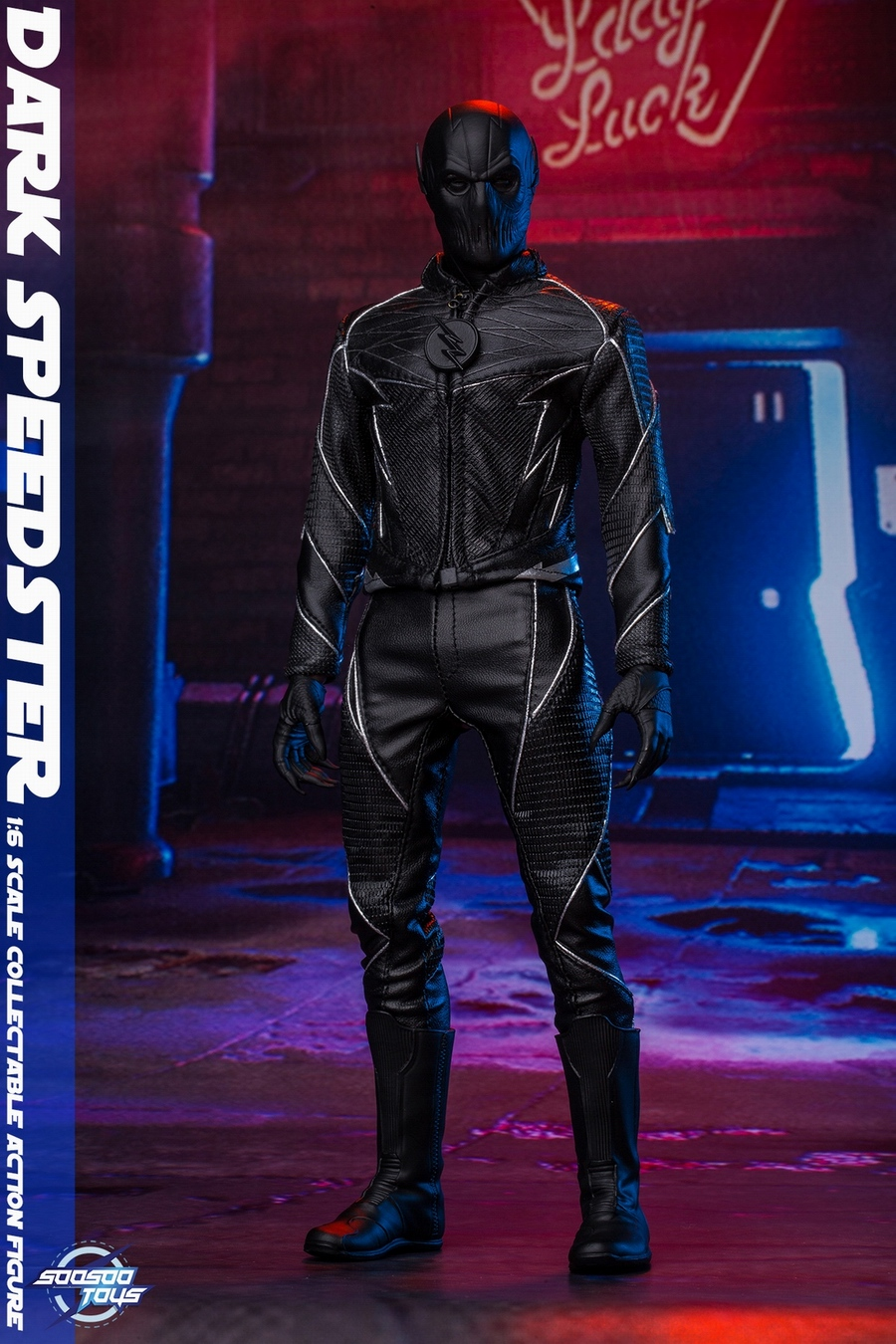 comic - NEW PRODUCT: Soosootoys: 1/6 black flash Dark speedster movable doll SST010 18364610
