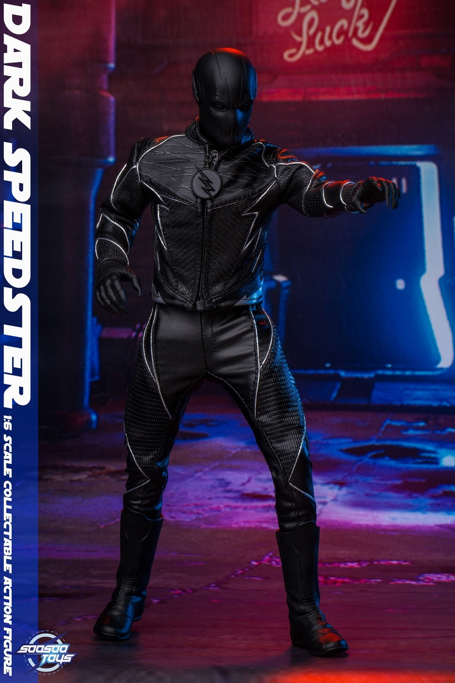 comic - NEW PRODUCT: Soosootoys: 1/6 black flash Dark speedster movable doll SST010 18364910