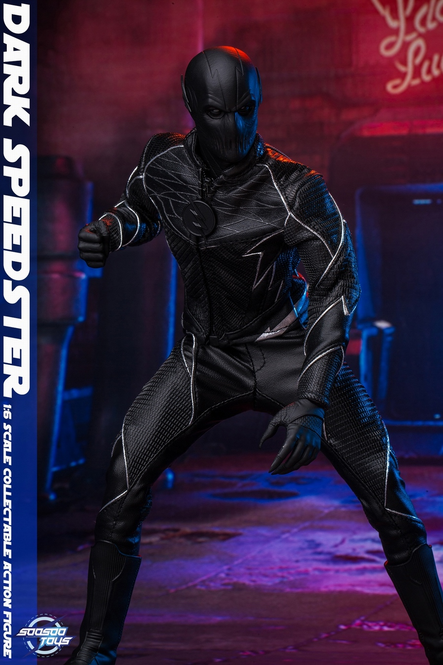 comic - NEW PRODUCT: Soosootoys: 1/6 black flash Dark speedster movable doll SST010 18370210