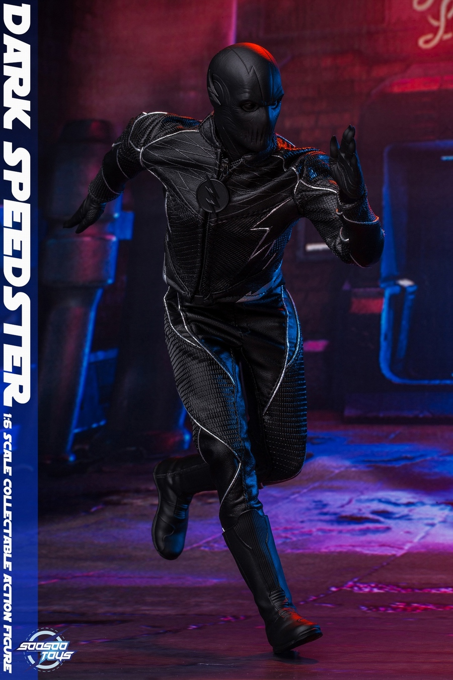 comic - NEW PRODUCT: Soosootoys: 1/6 black flash Dark speedster movable doll SST010 18370510