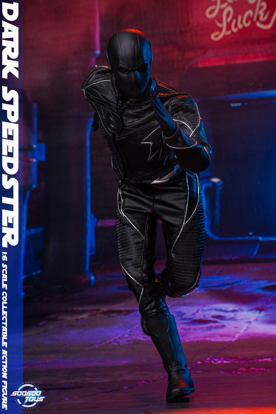 comic - NEW PRODUCT: Soosootoys: 1/6 black flash Dark speedster movable doll SST010 18370810