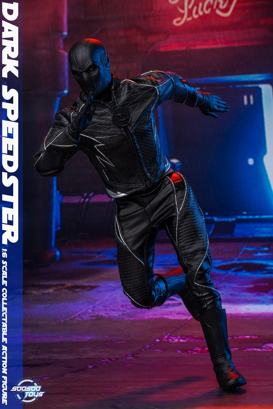 comic - NEW PRODUCT: Soosootoys: 1/6 black flash Dark speedster movable doll SST010 18371010