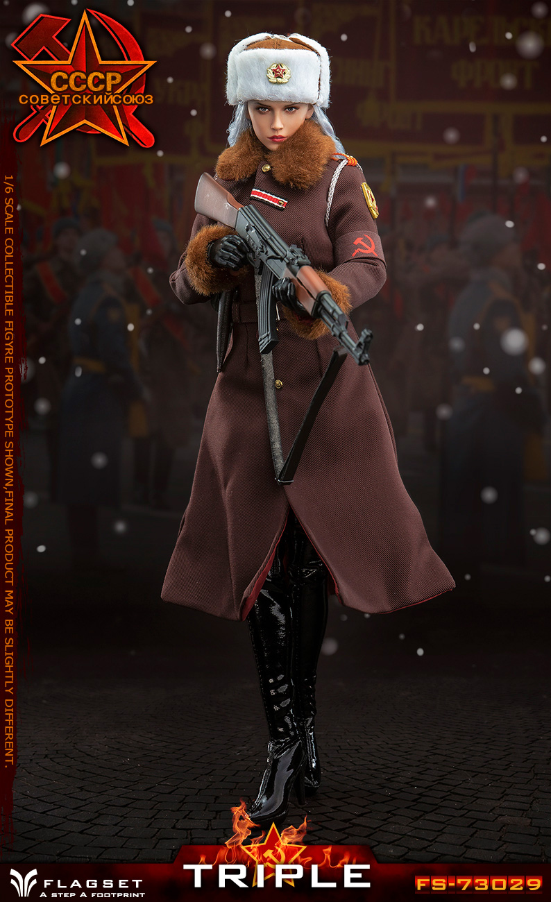 Flagset - NEW PRODUCT: Flagset: 1/6 Red Alert Soviet female officer Katyusha (#FS73029) 18383710