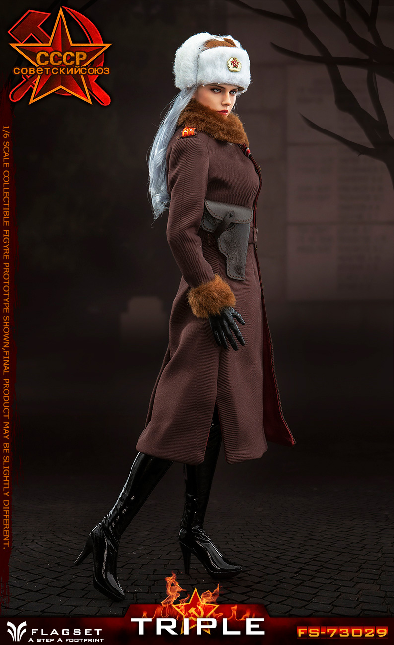 Flagset - NEW PRODUCT: Flagset: 1/6 Red Alert Soviet female officer Katyusha (#FS73029) 18383910