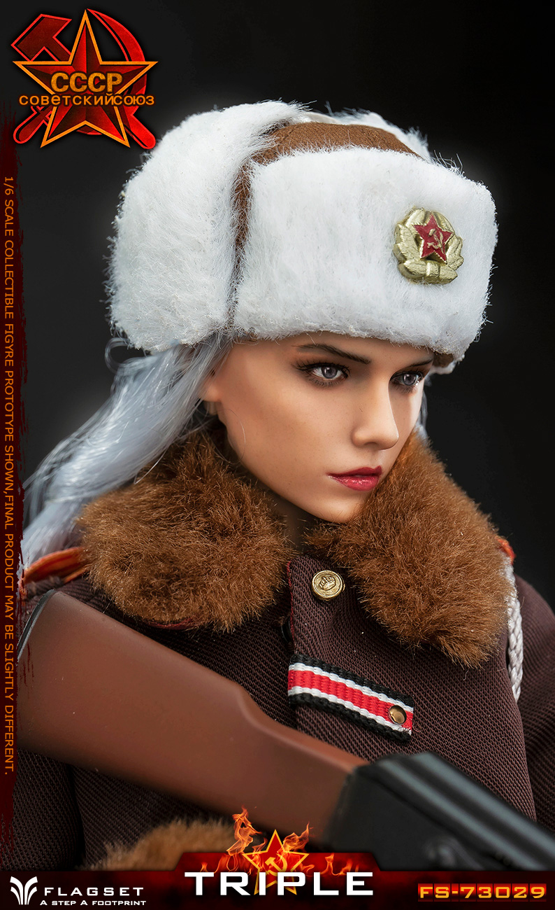 Flagset - NEW PRODUCT: Flagset: 1/6 Red Alert Soviet female officer Katyusha (#FS73029) 18384810
