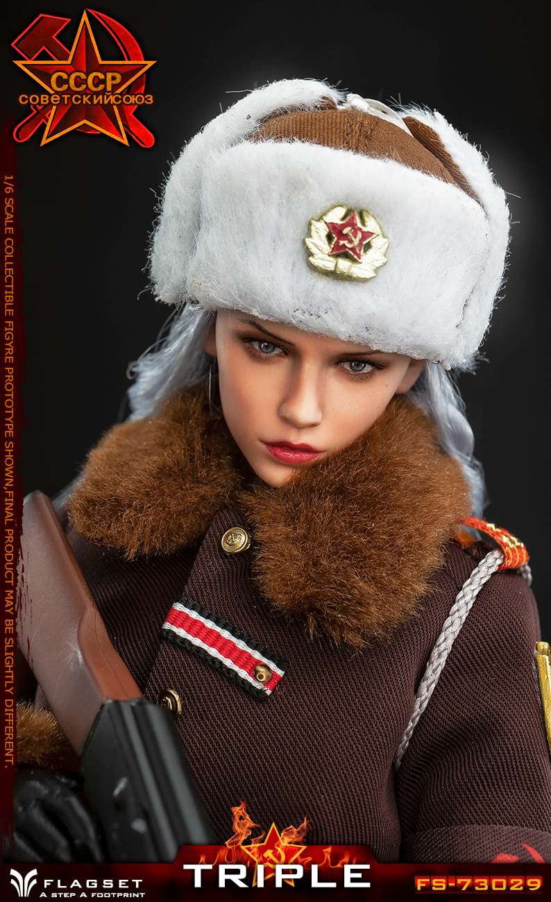 Flagset - NEW PRODUCT: Flagset: 1/6 Red Alert Soviet female officer Katyusha (#FS73029) 18384811