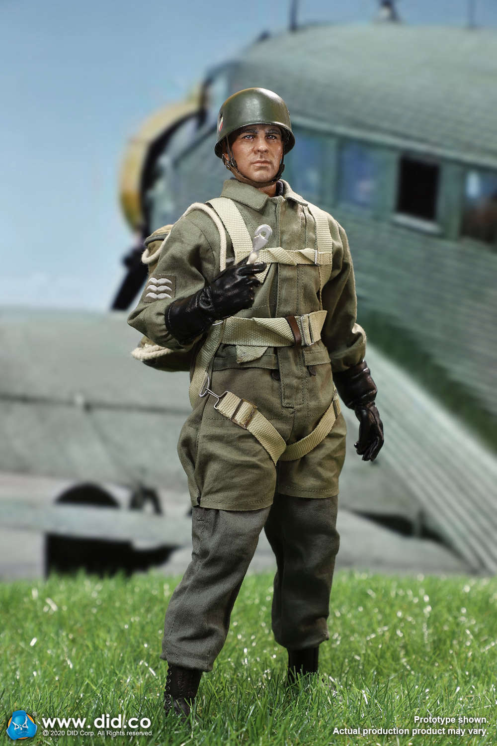did - NEW PRODUCT: DID: 1/6 World War II Paratrooper Green Devil-Schmeling (# D80146) 18393110