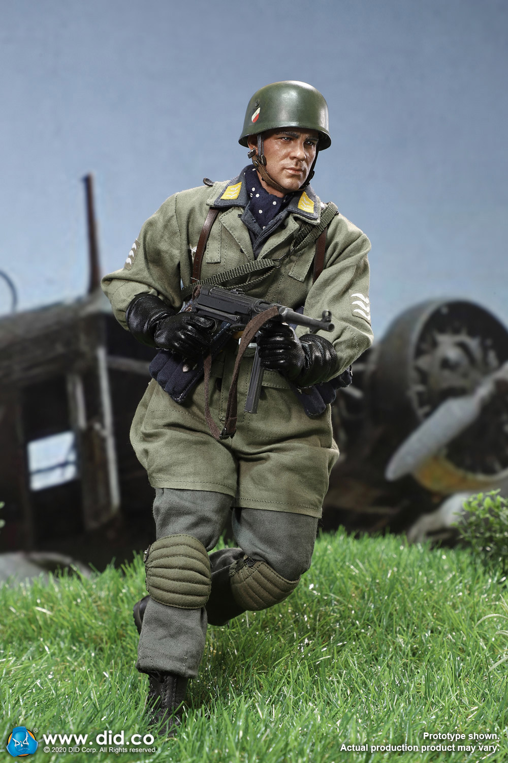 did - NEW PRODUCT: DID: 1/6 World War II Paratrooper Green Devil-Schmeling (# D80146) 18412710