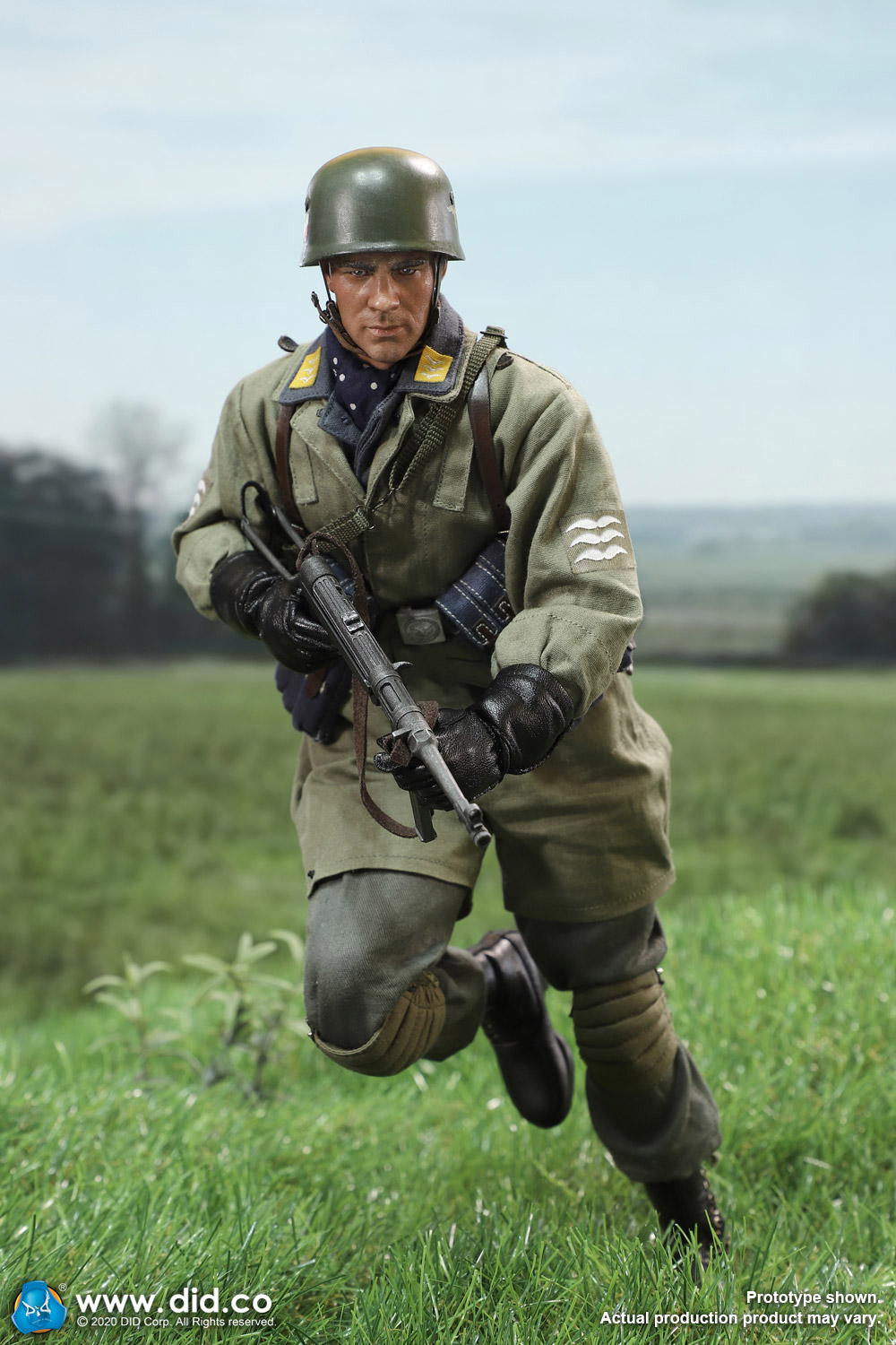did - NEW PRODUCT: DID: 1/6 World War II Paratrooper Green Devil-Schmeling (# D80146) 18412810