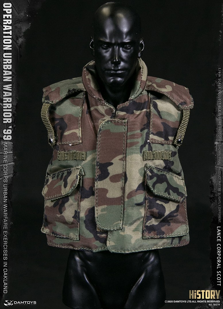 MarineCorps - NEW PRODUCT: DAMToys: 1/6 '99 City Warrior Operation-Marine Corps Oakland City Battle Exercise - Lance Corporal Scott #78079 18415612