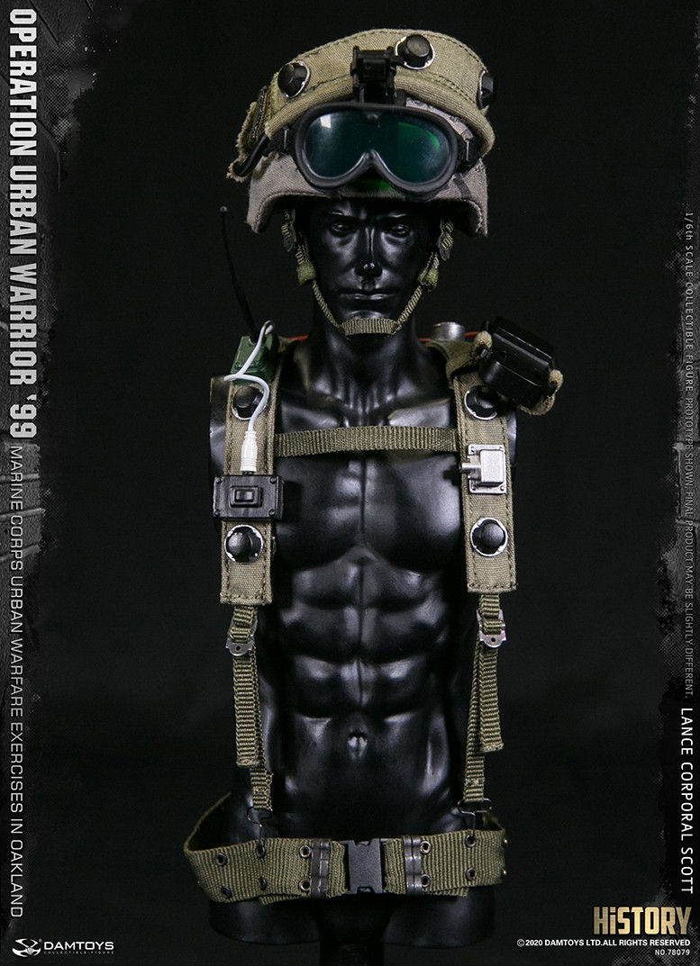 MarineCorps - NEW PRODUCT: DAMToys: 1/6 '99 City Warrior Operation-Marine Corps Oakland City Battle Exercise - Lance Corporal Scott #78079 18415711