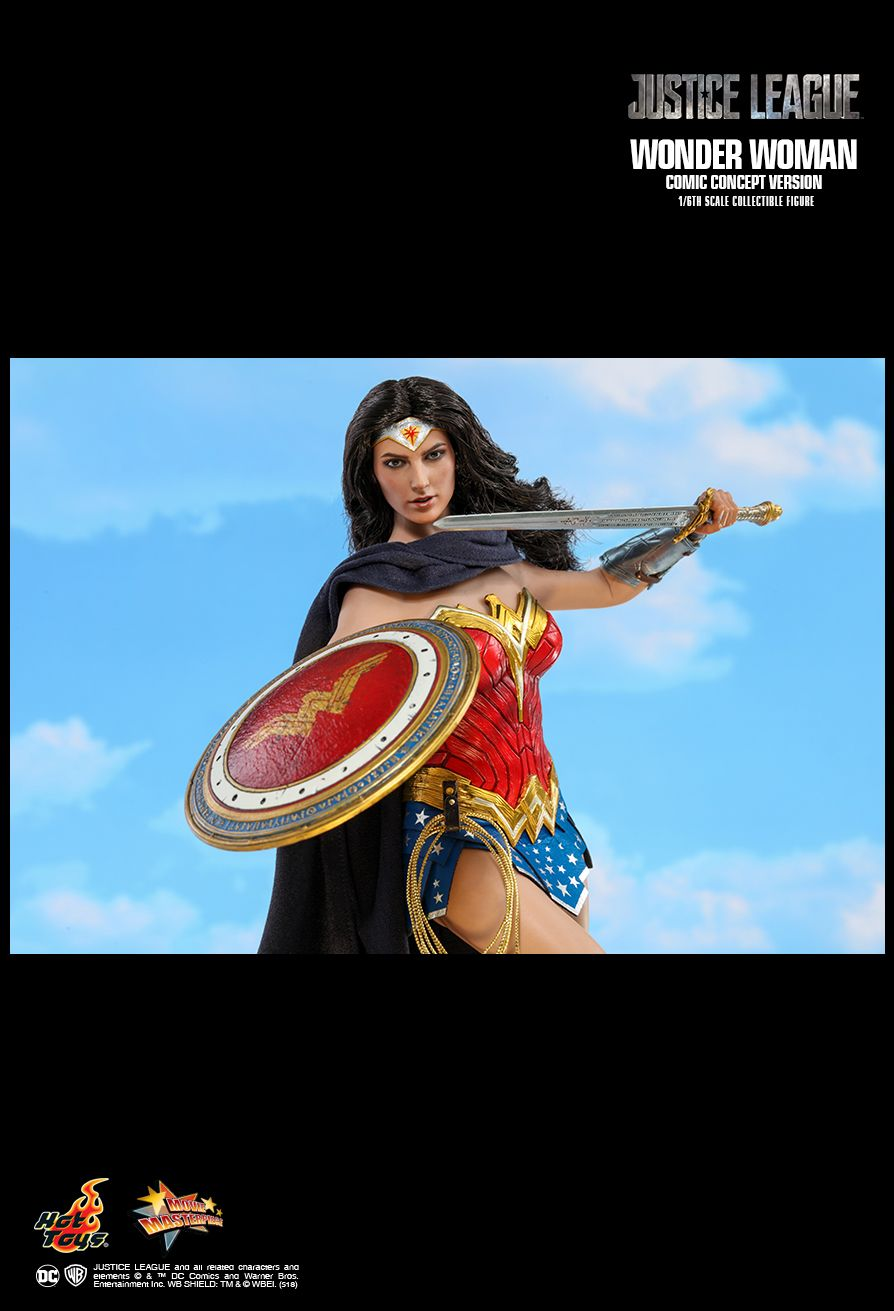 NEW PRODUCT: HOT TOYS: JUSTICE LEAGUE WONDER WOMAN (COMIC CONCEPT VERSION) 1/6TH SCALE COLLECTIBLE FIGURE 1842
