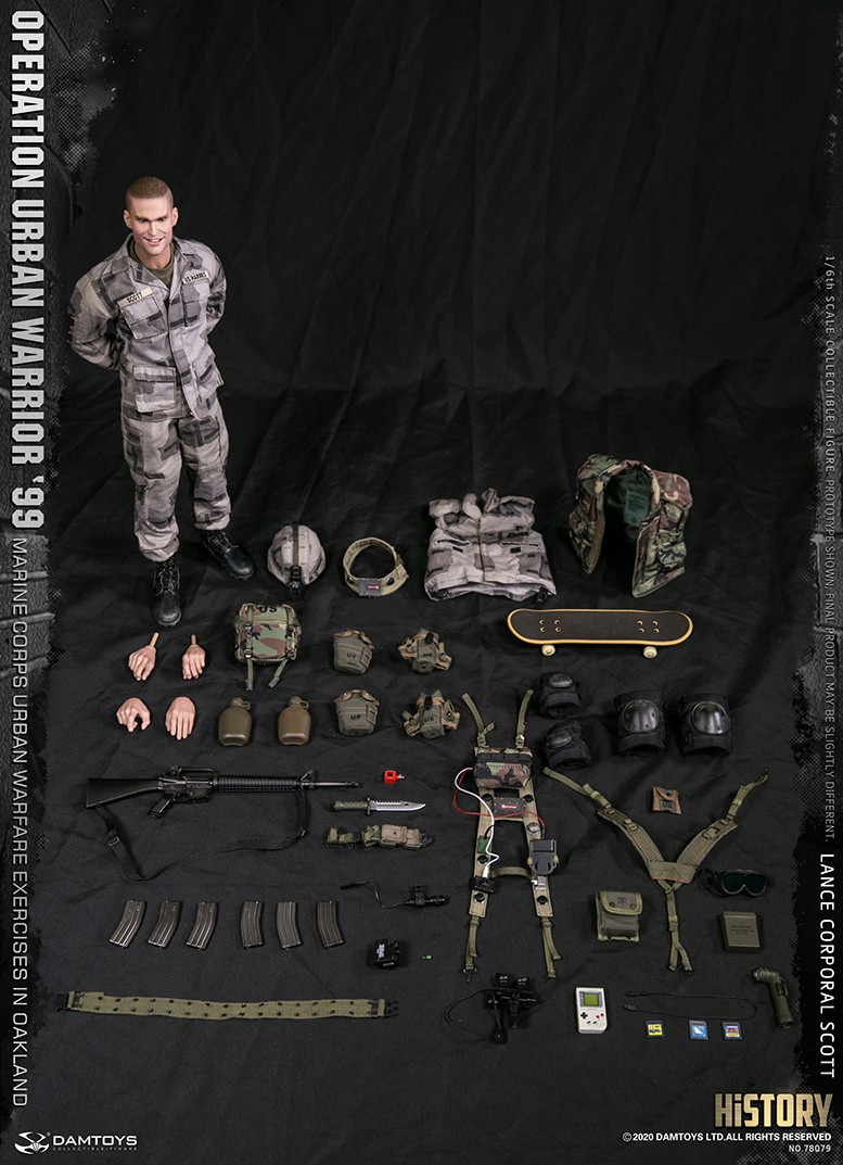 MarineCorps - NEW PRODUCT: DAMToys: 1/6 '99 City Warrior Operation-Marine Corps Oakland City Battle Exercise - Lance Corporal Scott #78079 18420411