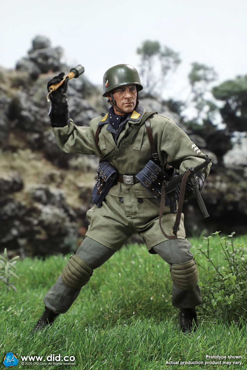 did - NEW PRODUCT: DID: 1/6 World War II Paratrooper Green Devil-Schmeling (# D80146) 18422610
