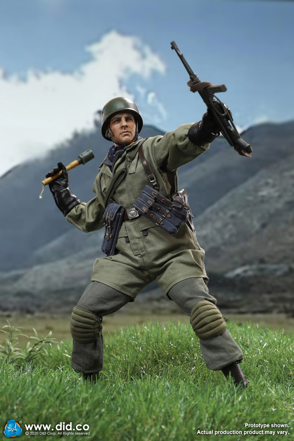 did - NEW PRODUCT: DID: 1/6 World War II Paratrooper Green Devil-Schmeling (# D80146) 18424410