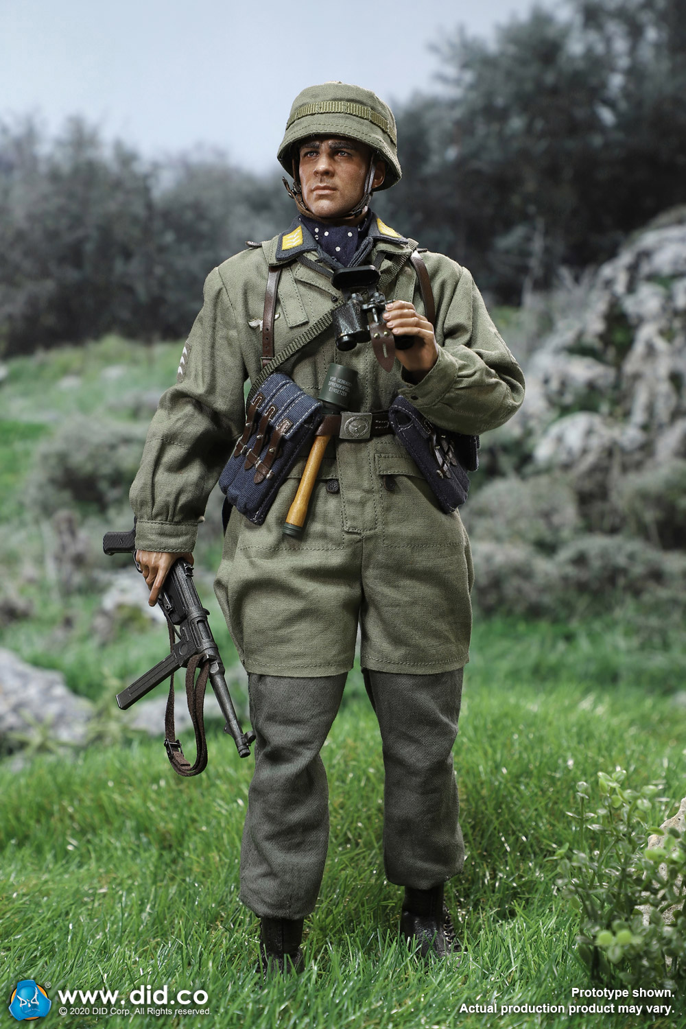 did - NEW PRODUCT: DID: 1/6 World War II Paratrooper Green Devil-Schmeling (# D80146) 18424510