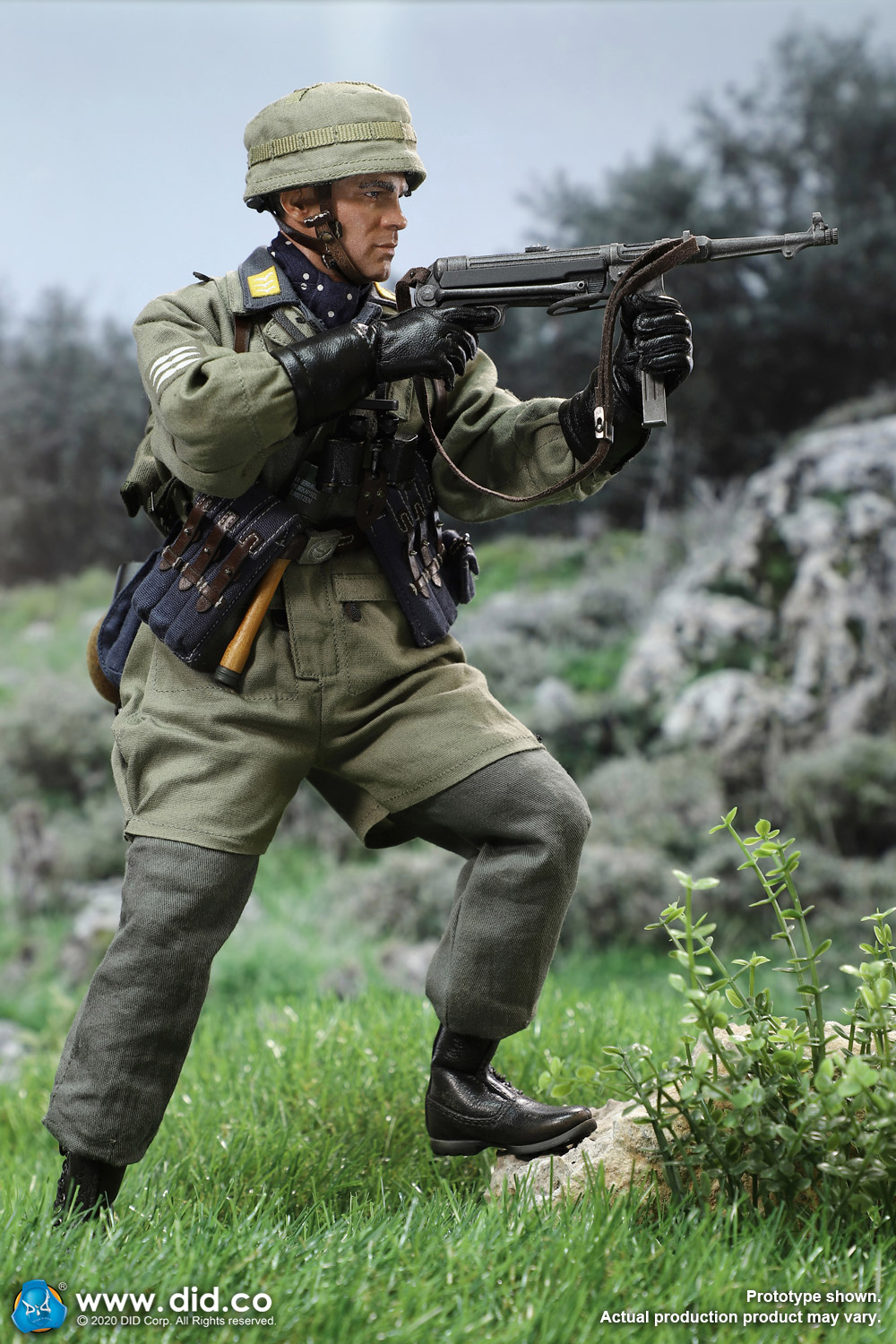 did - NEW PRODUCT: DID: 1/6 World War II Paratrooper Green Devil-Schmeling (# D80146) 18430310