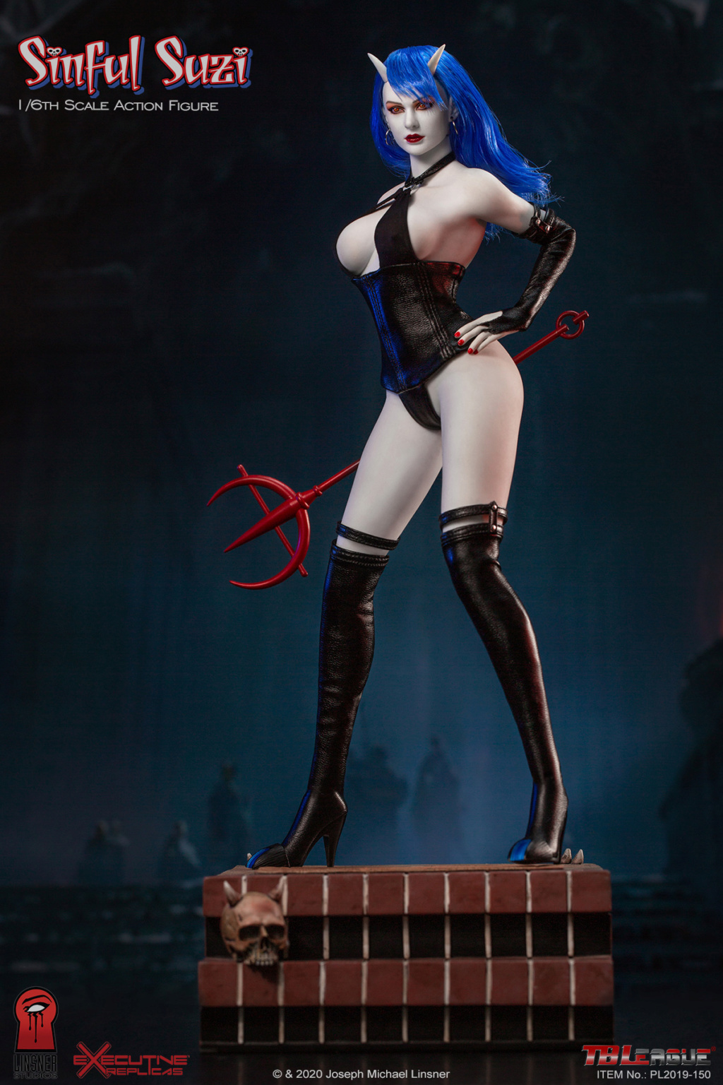 TBLeague - NEW PRODUCT: TBLeague Sinful Suzi 1/6 Scale Action Figure (PL2019-150) 18432310