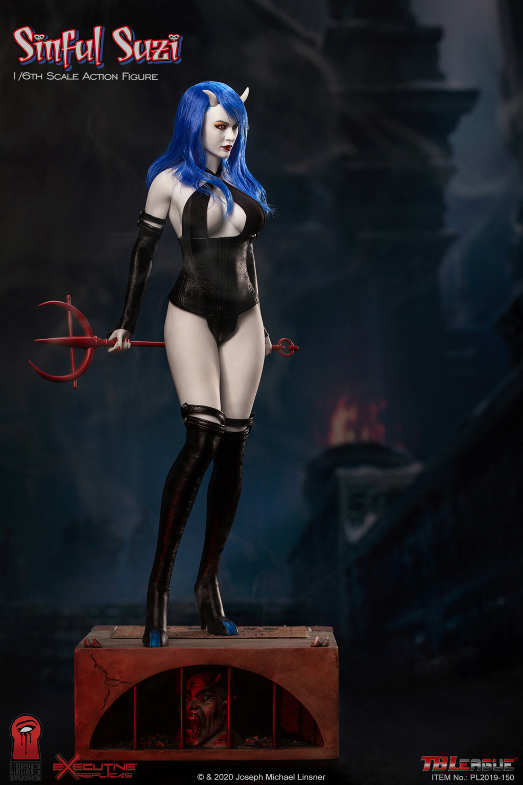 TBLeague - NEW PRODUCT: TBLeague Sinful Suzi 1/6 Scale Action Figure (PL2019-150) 18433010