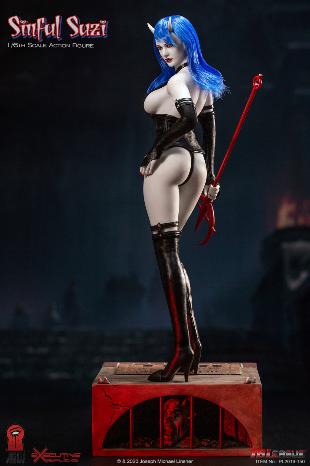 TBLeague - NEW PRODUCT: TBLeague Sinful Suzi 1/6 Scale Action Figure (PL2019-150) 18434610