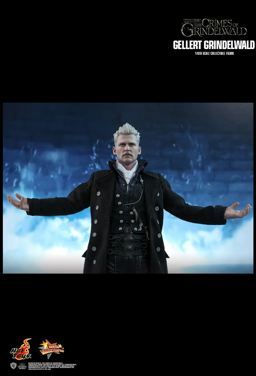 NEW PRODUCT: HOT TOYS: FANTASTIC BEASTS: THE CRIMES OF GRINDELWALD GELLERT GRINDELWALD 1/6TH SCALE COLLECTIBLE FIGURE 1845