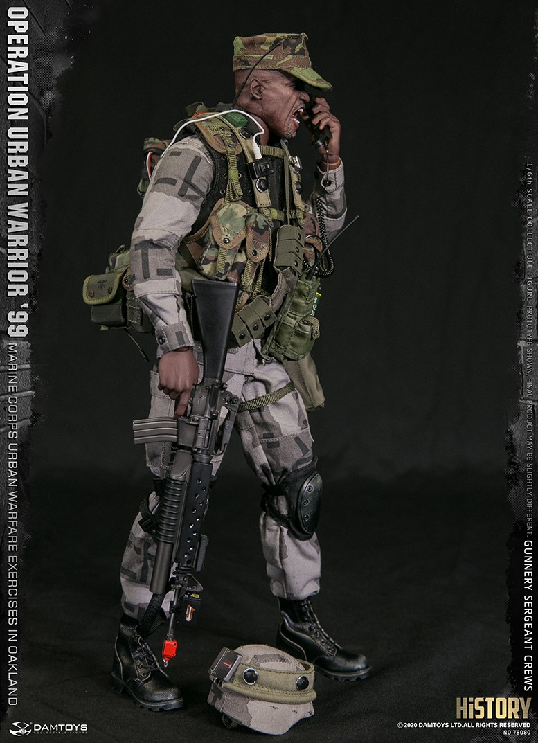 modernmilitary - NEW PRODUCT: DAMTOYS: 1/6 '99 City Warriors Operation-Marine Corps Oakland City Battle Exercise-Gunner Sergeant Cruise #78080 18481111