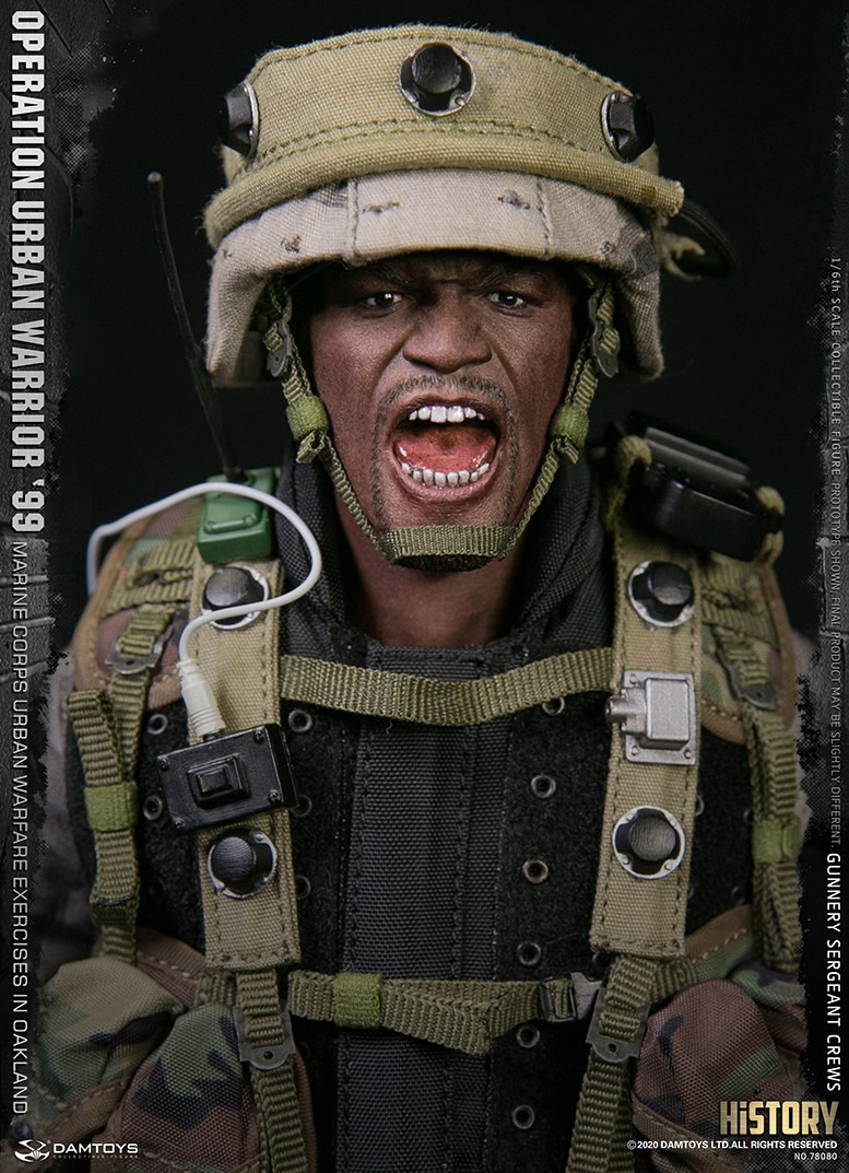 modernmilitary - NEW PRODUCT: DAMTOYS: 1/6 '99 City Warriors Operation-Marine Corps Oakland City Battle Exercise-Gunner Sergeant Cruise #78080 18481410