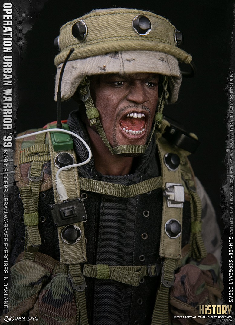 modernmilitary - NEW PRODUCT: DAMTOYS: 1/6 '99 City Warriors Operation-Marine Corps Oakland City Battle Exercise-Gunner Sergeant Cruise #78080 18481411