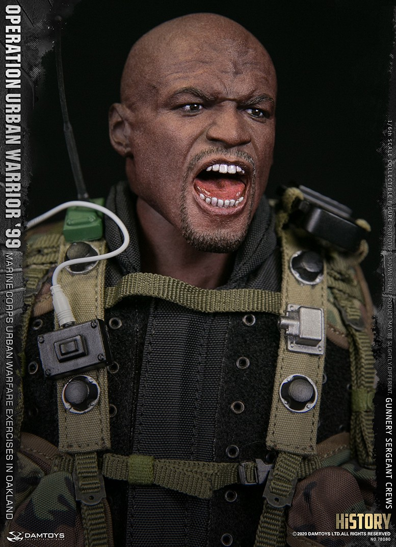 modernmilitary - NEW PRODUCT: DAMTOYS: 1/6 '99 City Warriors Operation-Marine Corps Oakland City Battle Exercise-Gunner Sergeant Cruise #78080 18481510