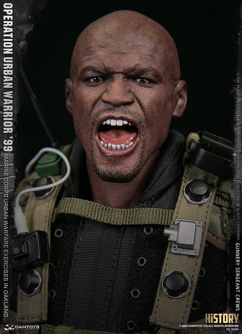 modernmilitary - NEW PRODUCT: DAMTOYS: 1/6 '99 City Warriors Operation-Marine Corps Oakland City Battle Exercise-Gunner Sergeant Cruise #78080 18481610