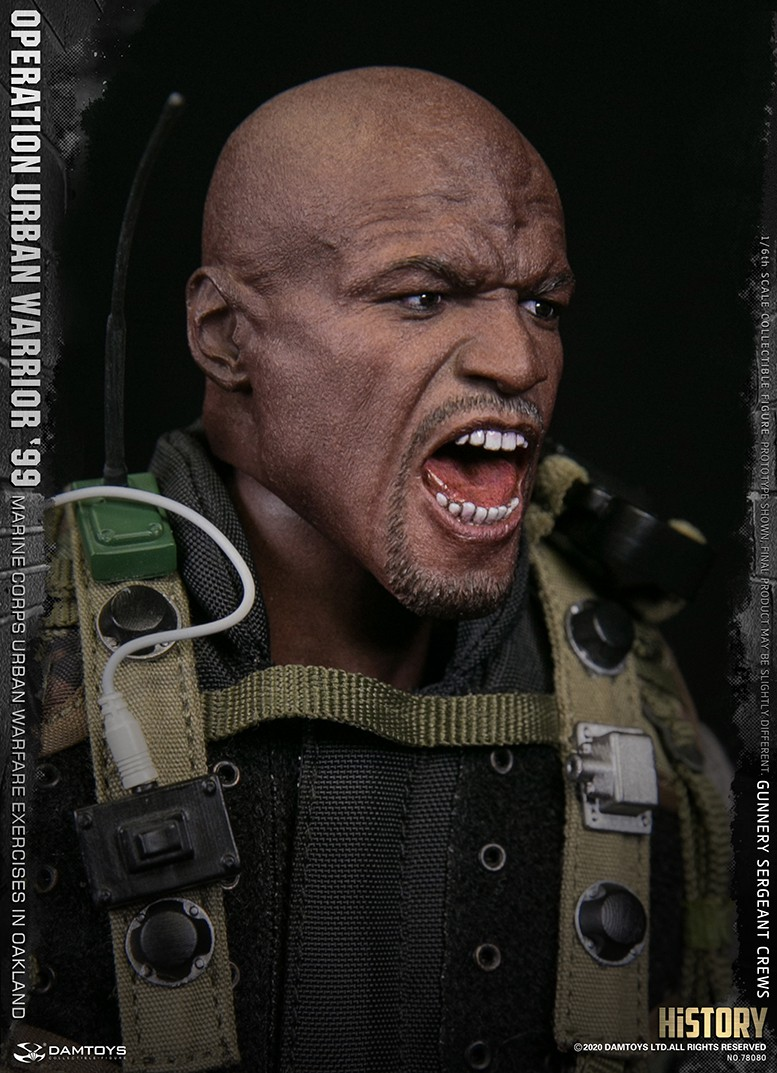 modernmilitary - NEW PRODUCT: DAMTOYS: 1/6 '99 City Warriors Operation-Marine Corps Oakland City Battle Exercise-Gunner Sergeant Cruise #78080 18481611