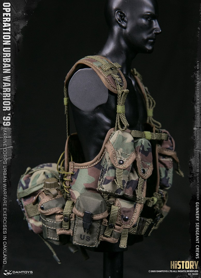 modernmilitary - NEW PRODUCT: DAMTOYS: 1/6 '99 City Warriors Operation-Marine Corps Oakland City Battle Exercise-Gunner Sergeant Cruise #78080 18481810
