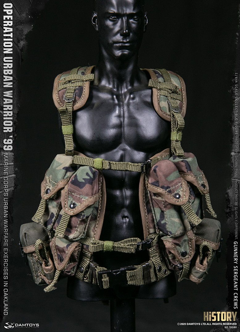 modernmilitary - NEW PRODUCT: DAMTOYS: 1/6 '99 City Warriors Operation-Marine Corps Oakland City Battle Exercise-Gunner Sergeant Cruise #78080 18481811