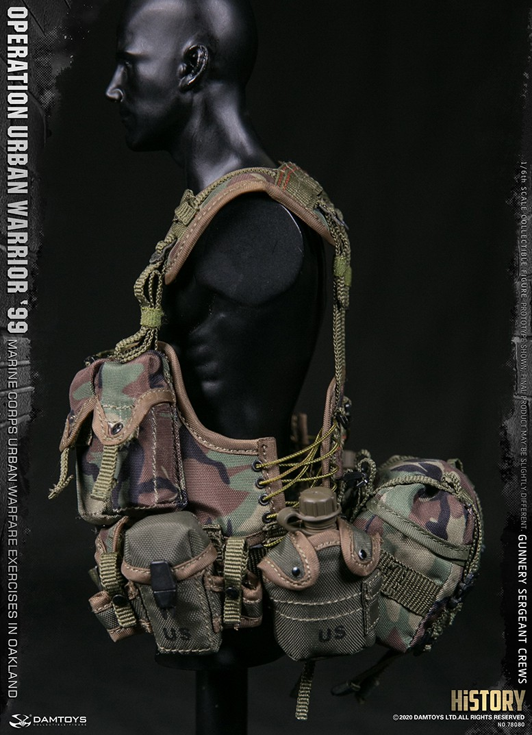 modernmilitary - NEW PRODUCT: DAMTOYS: 1/6 '99 City Warriors Operation-Marine Corps Oakland City Battle Exercise-Gunner Sergeant Cruise #78080 18481910